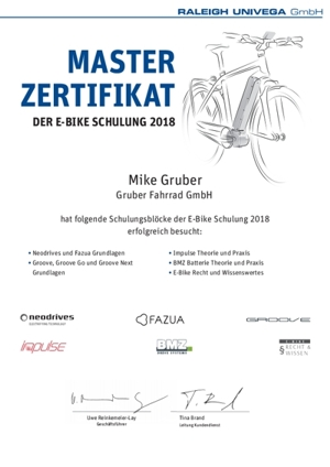 Impulse, Neodrive Servicepartner Fahrrad-Gruber